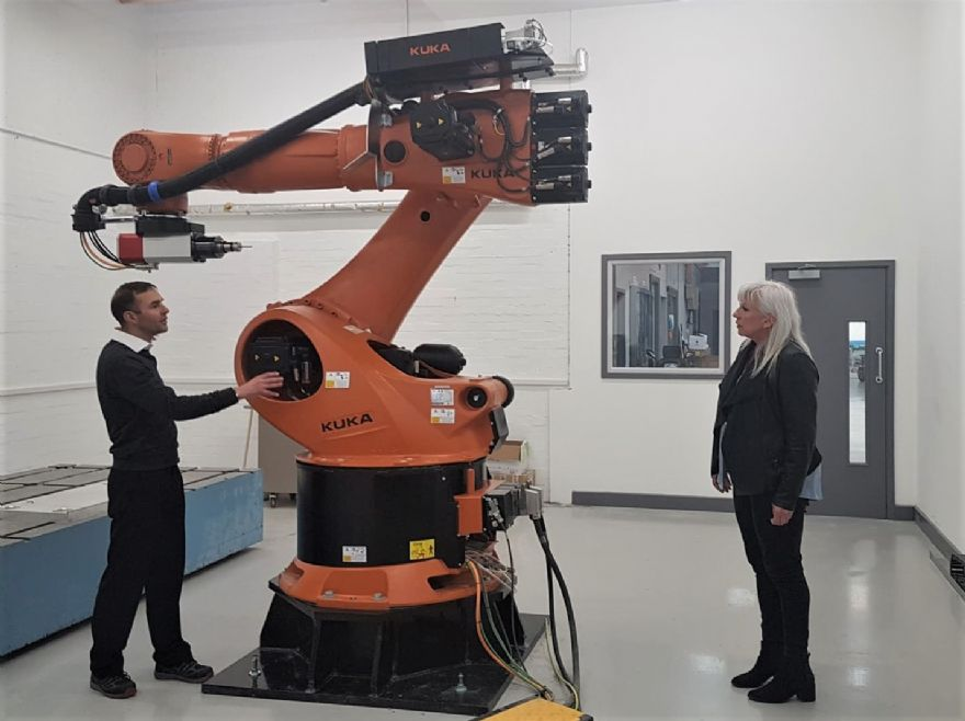Local MP visits Pentaxia for a site tour