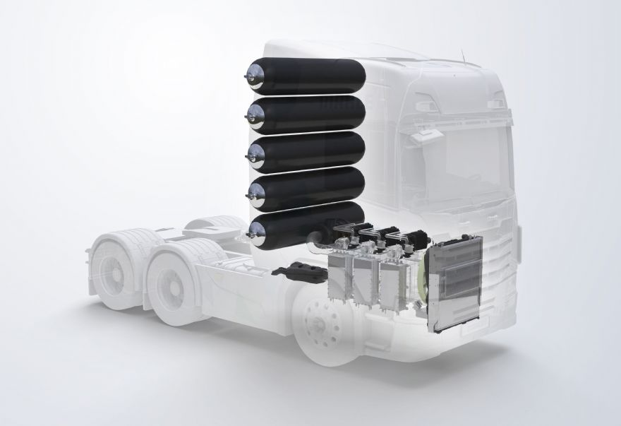 Fuel cell collaboration for commercial vehicles