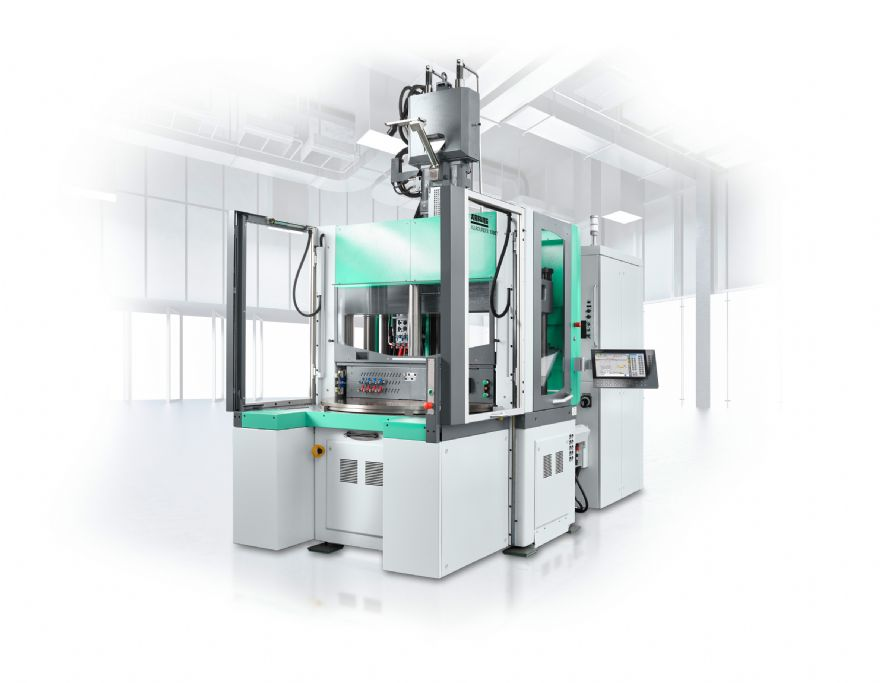 New Arburg Allrounder rotary table machine