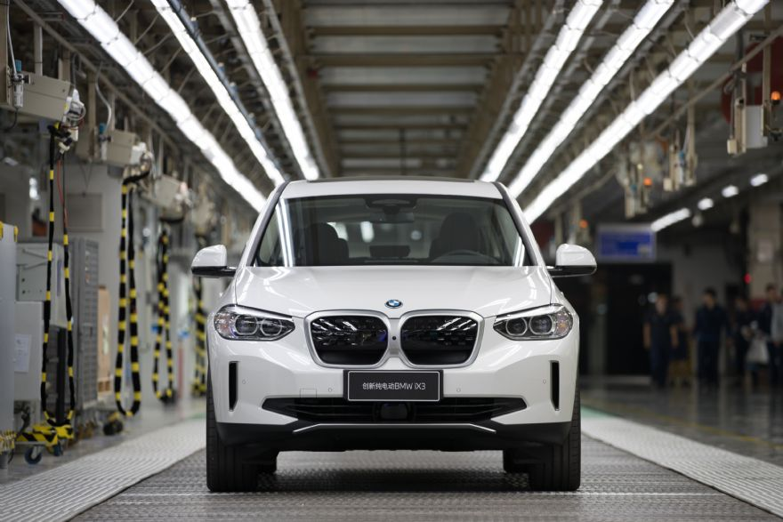 First BMW iX3 rolls off production line in China