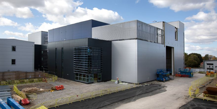 UK's National Satellite Test Facility takes shape