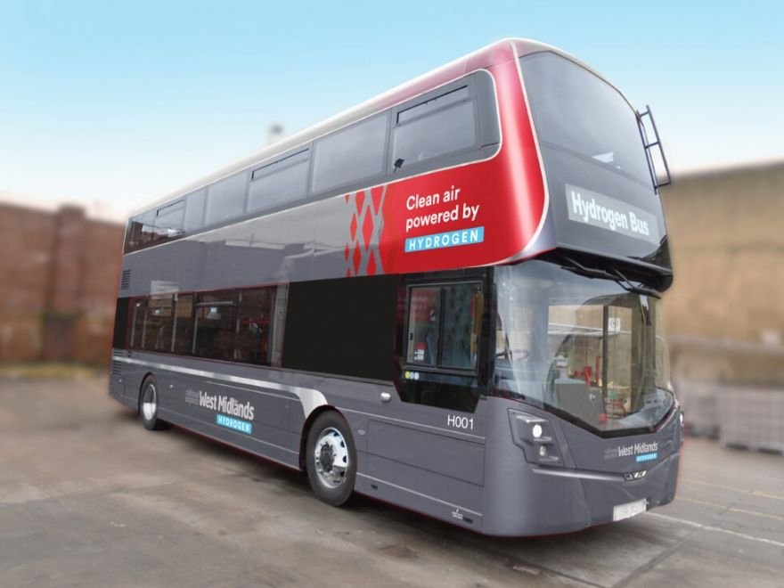 Hydrogen buses coming to Birmingham next spring