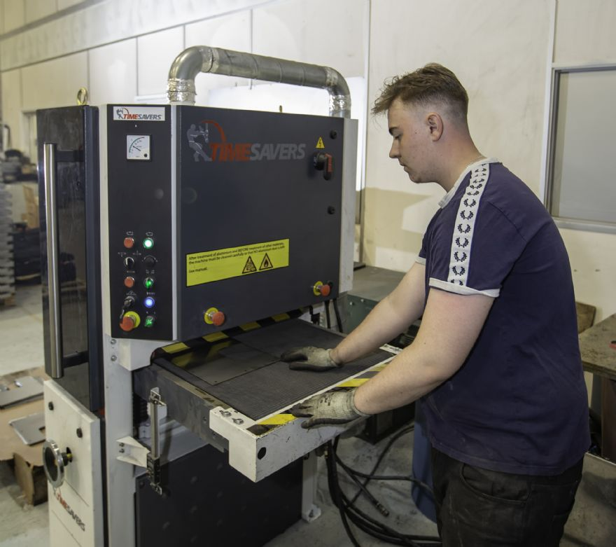 Timesavers graining machine makes big impact