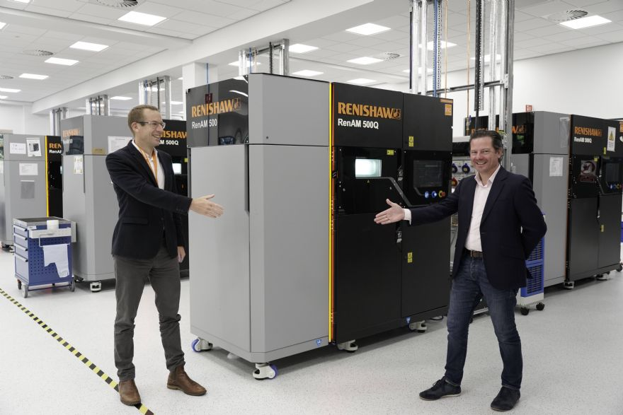 DMC invests in two RenAM 500Q 3-D printers