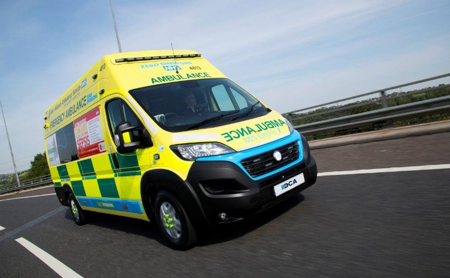 VCS launches UK's first all-electric ambulance
