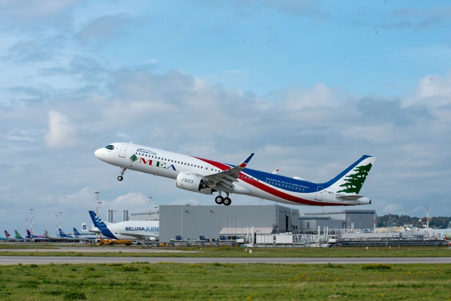 Airbus delivers A320 Family MSN10,000 to MEA
