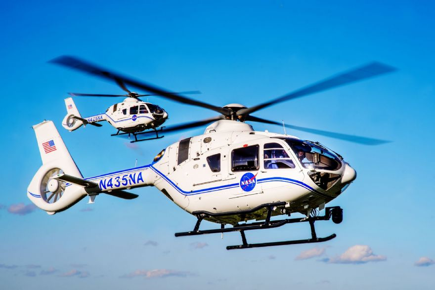 NASA invests in two Airbus H135 helicopters