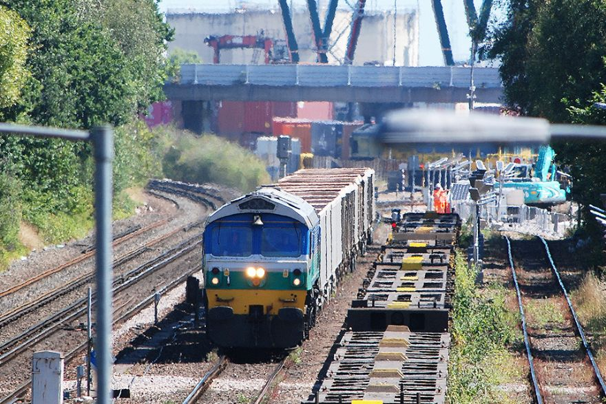 Boost for Southampton's rail freight capacity