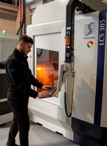 MTC invests in waterjet guided laser technology