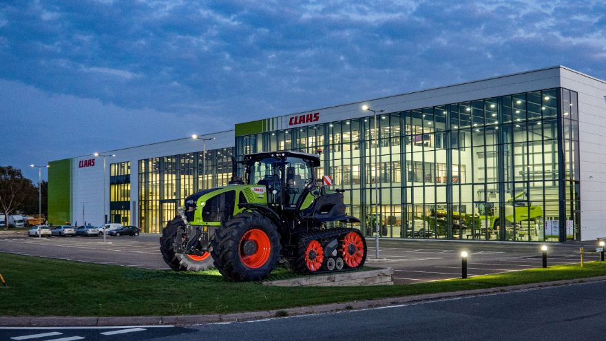 CLAAS UK's new HQ officially opens in Suffolk
