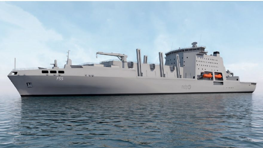 UK shipbuilding boosted by warship procurement