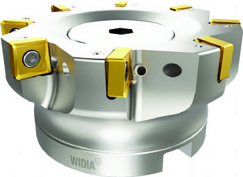 New Widia inserts extend shoulder mill series