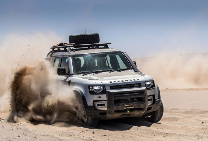 JLR trials lightweight metals and composites