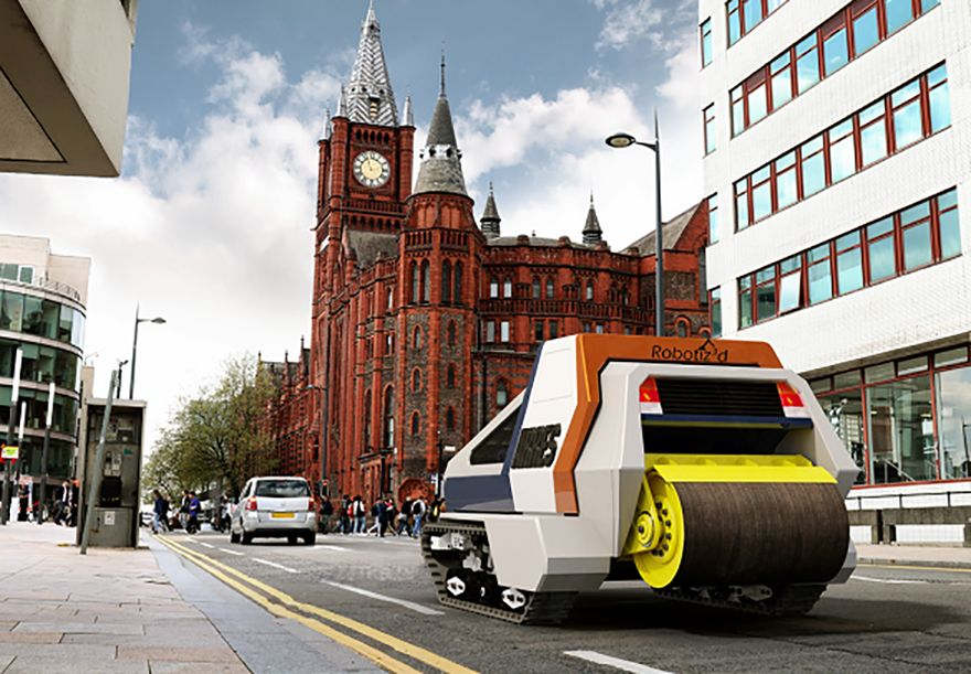 AI-driven robot to revolutionise pothole repair