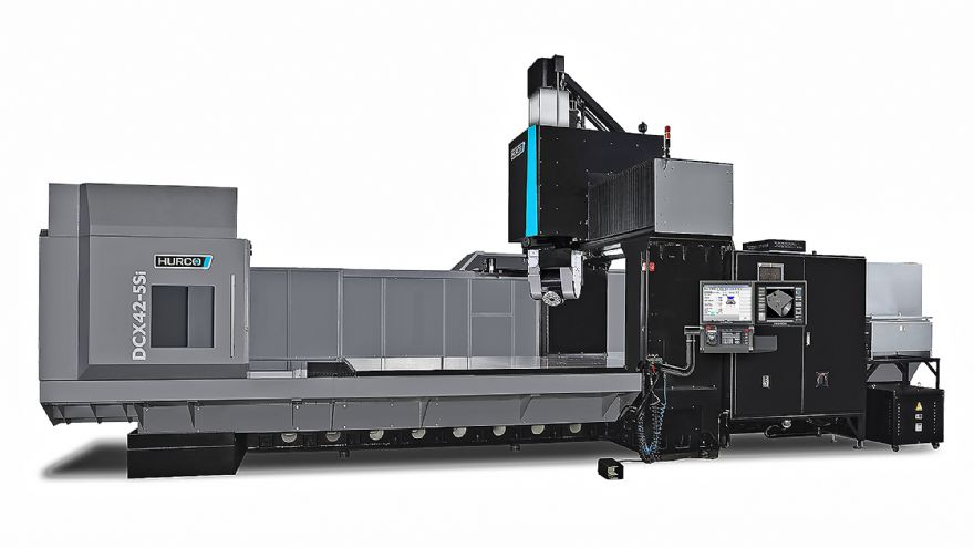 Hurco expands large 5-axis machining centre range