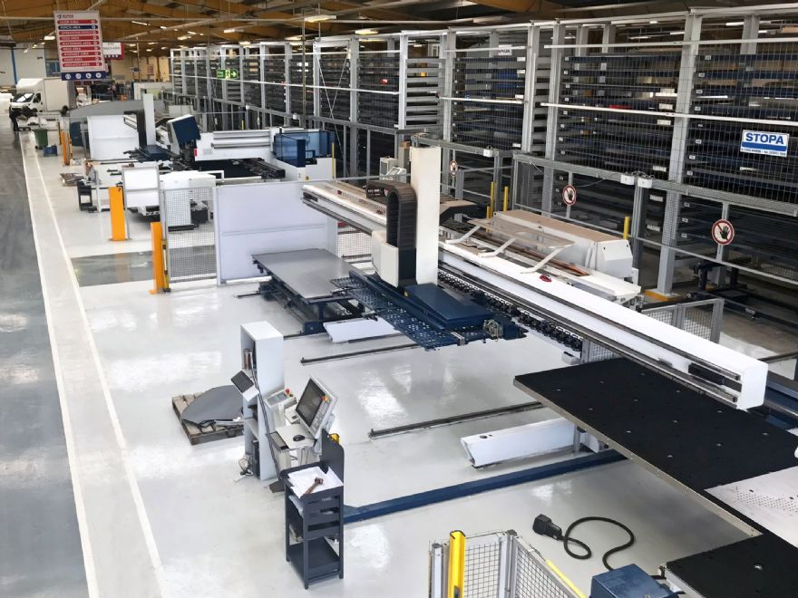 Alpha extends Stopa automated storage system