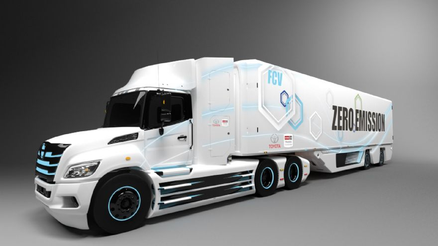 Toyota supports hydrogen transport projects