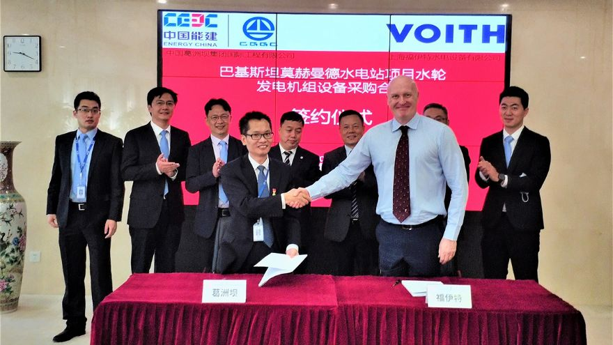 Voith awarded contract for turbine generator units