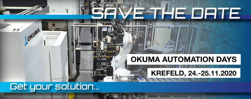 Okuma to host Automation Days 2020 in Germany