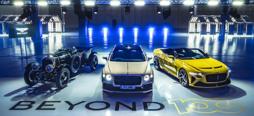 Bentley unveils plans to go fully electric by 2030