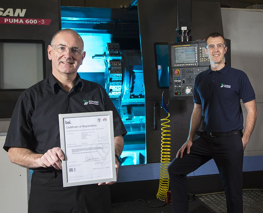 Express Engineering gets ISO 45001 accreditation
