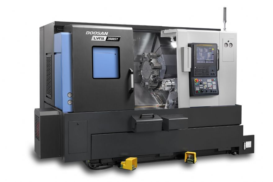 New Lynx lathes with Y-axis and sub-spindle