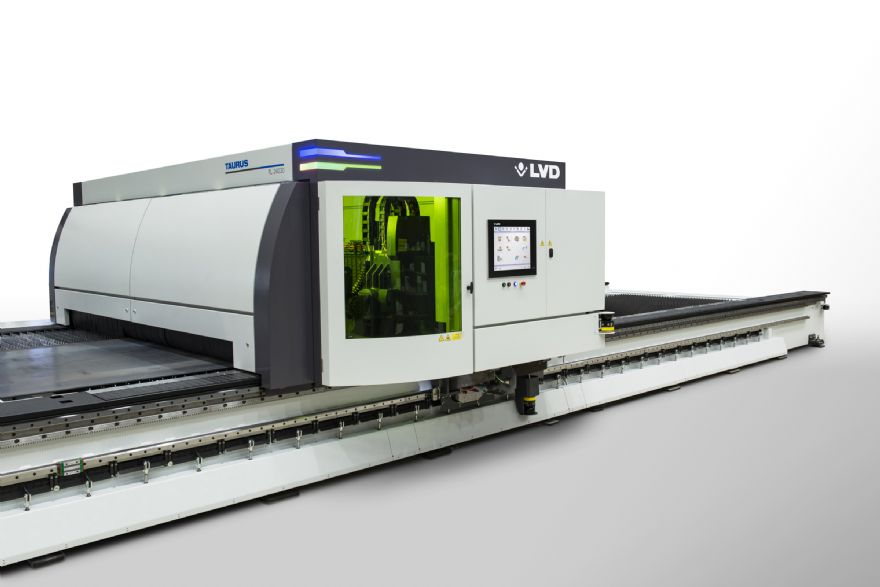 LVD unveils new large-format laser cutting machine