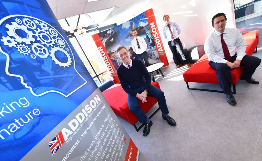Addison Project opens new North East headquarters