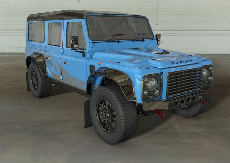 Bowler to bring classic Defender shape back