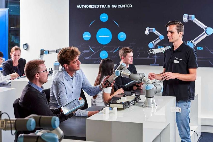 Universal Robots' Authorised Training Centre opens
