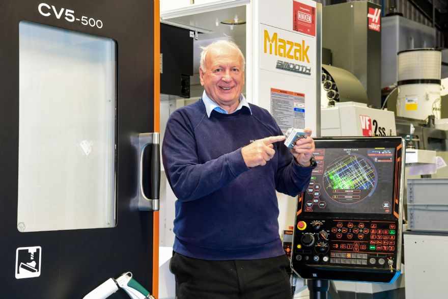 Engineering firm opts for UK-built 5-axis machine