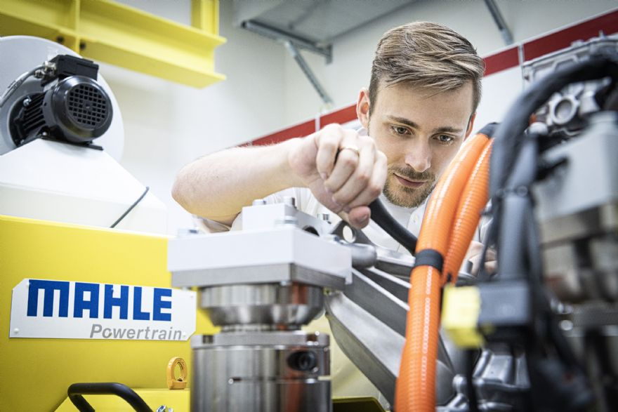 Mahle opens new test bed for electric drives
