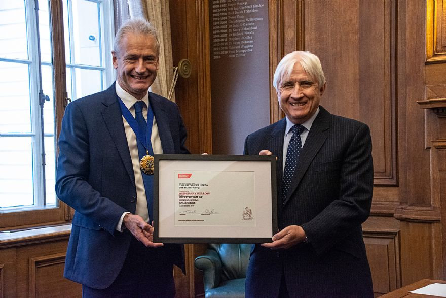 AESseal's MD awarded IMechE's highest accolade