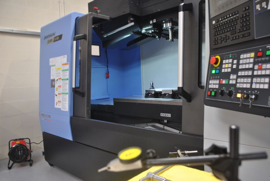 Cutting Blue invests in three-axis VMC from Mills