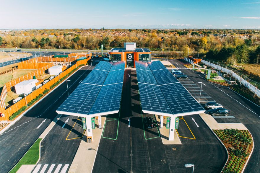 Gridserve opens UK's first 'Electric Forecourt'
