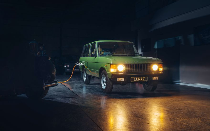 Lunaz to produce electric classic Range Rovers