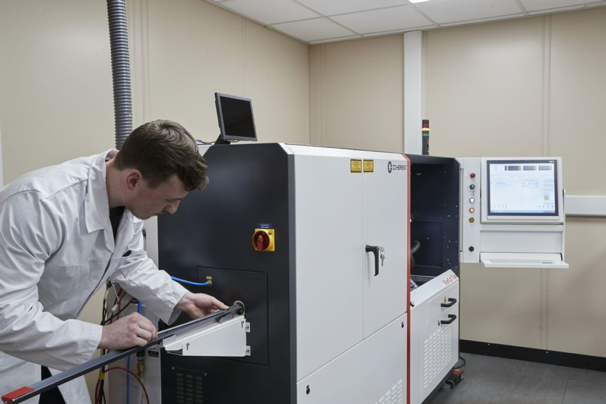 Laser processing firm invests in new machine