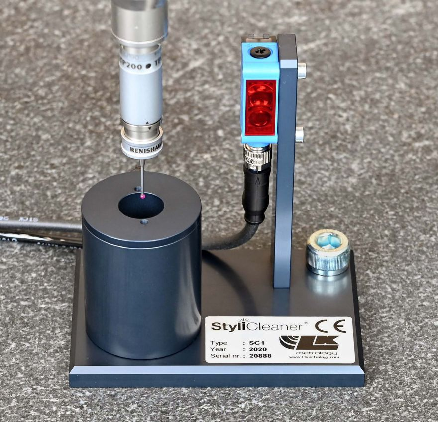 Automated CMM stylus cleaning system introduced