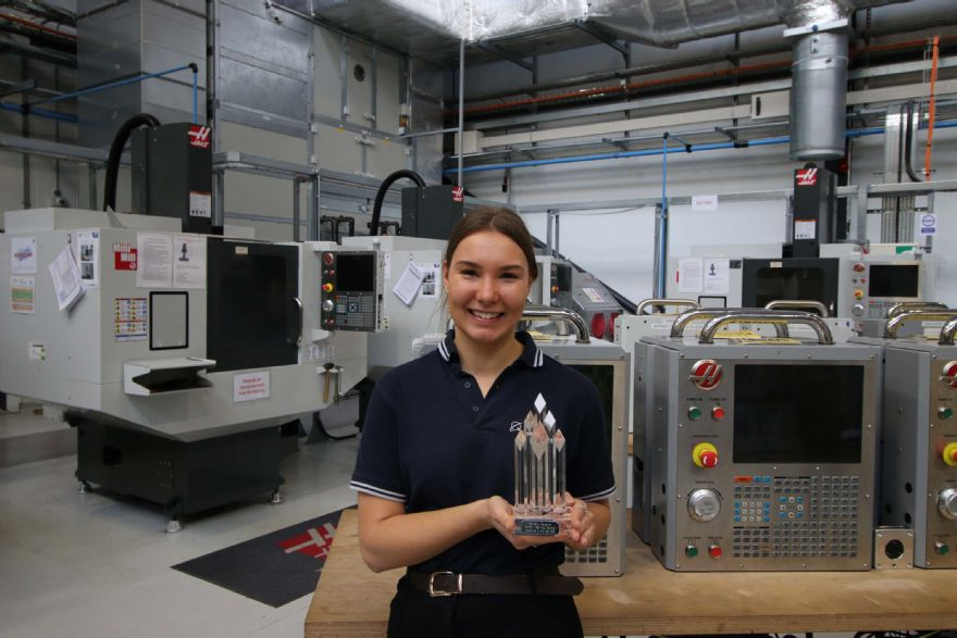 AMRC apprentice doubles-up on top awards