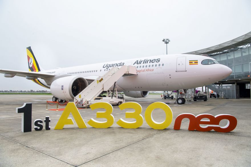 Uganda Airlines flies further with its new A330neo