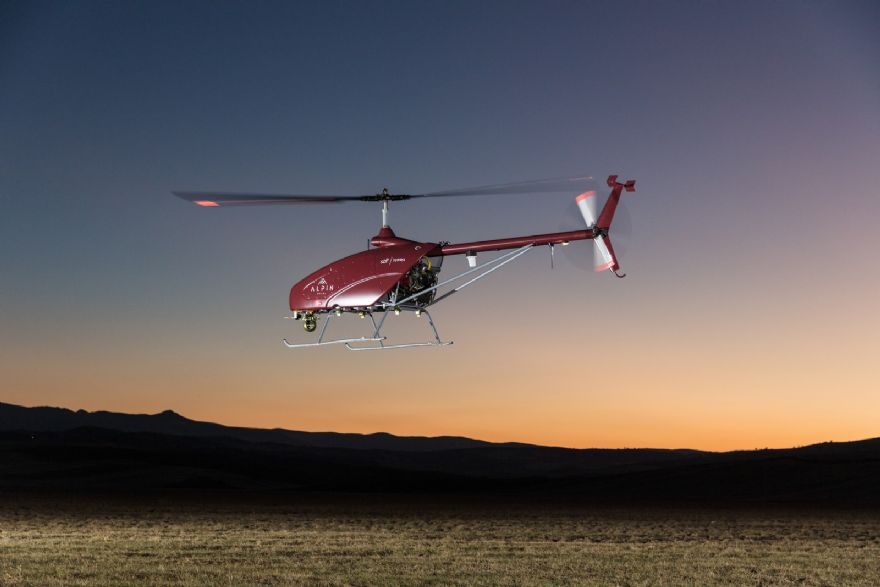 UAVOS successfully tests unmanned helicopter