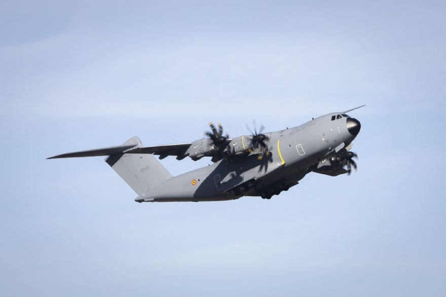 First Airbus A400M for the Belgian Air Force