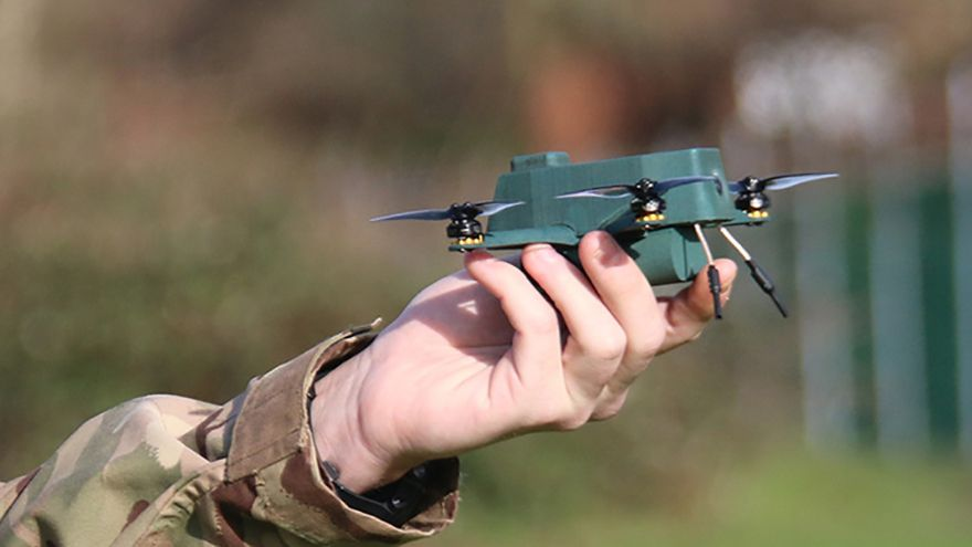 BAE Systems and UAVTEK develop nano 'Bug' drone