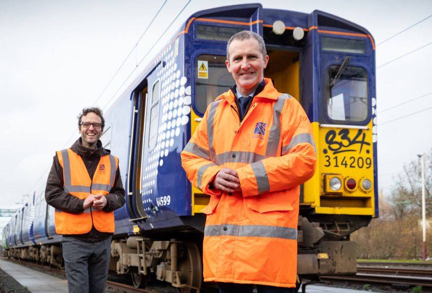 Scottish hydrogen-powered train under development