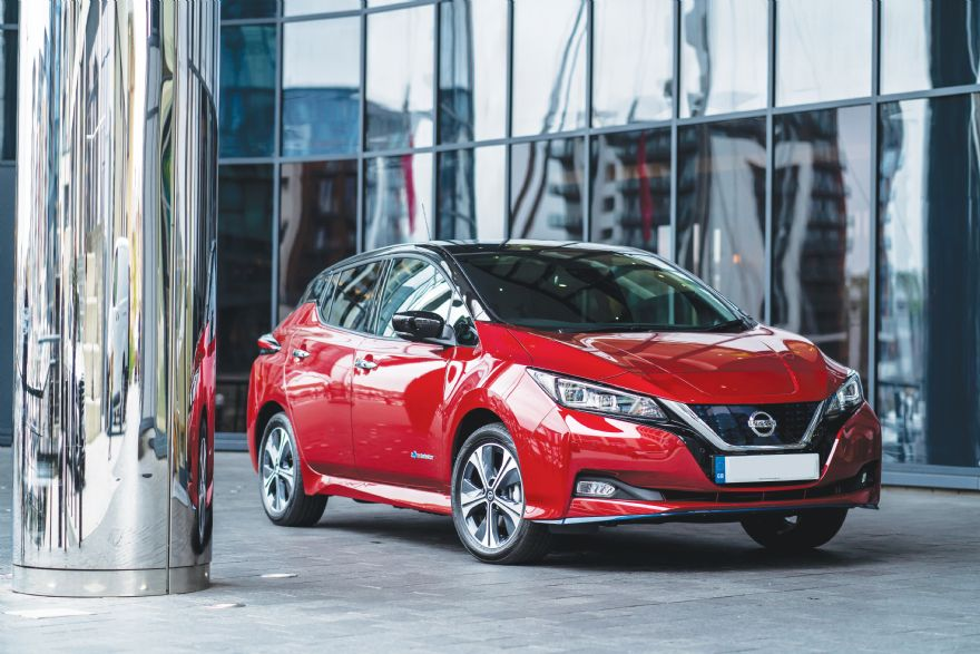 Nissan LEAF passes 40,000 UK sales