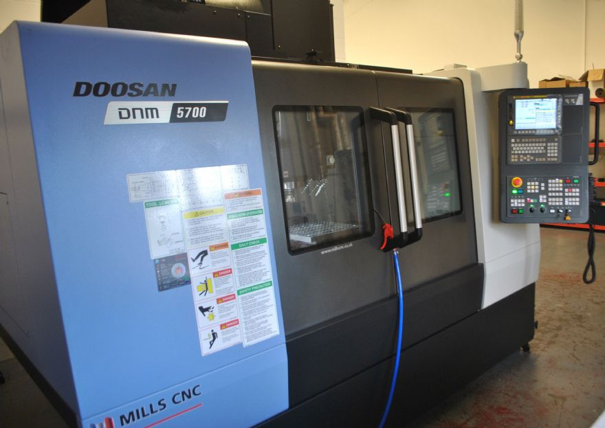 High-performance three-axis VMC investment