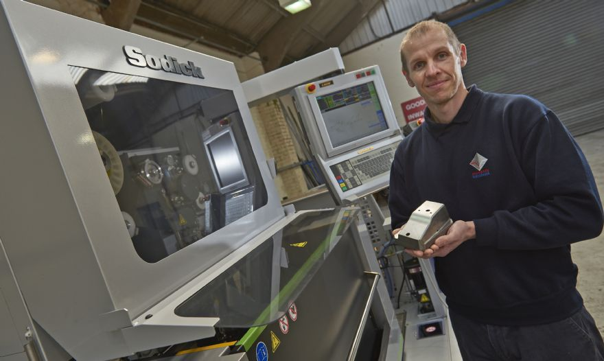 Sodick wire EDM technology boosts productivity