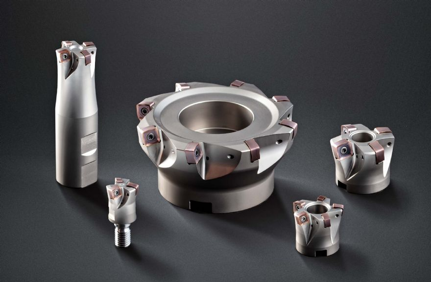 New high-feed milling cutters from Horn