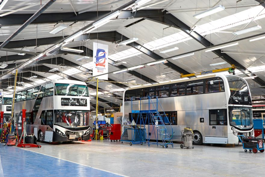 Partnership to build electric bus chassis in UK
