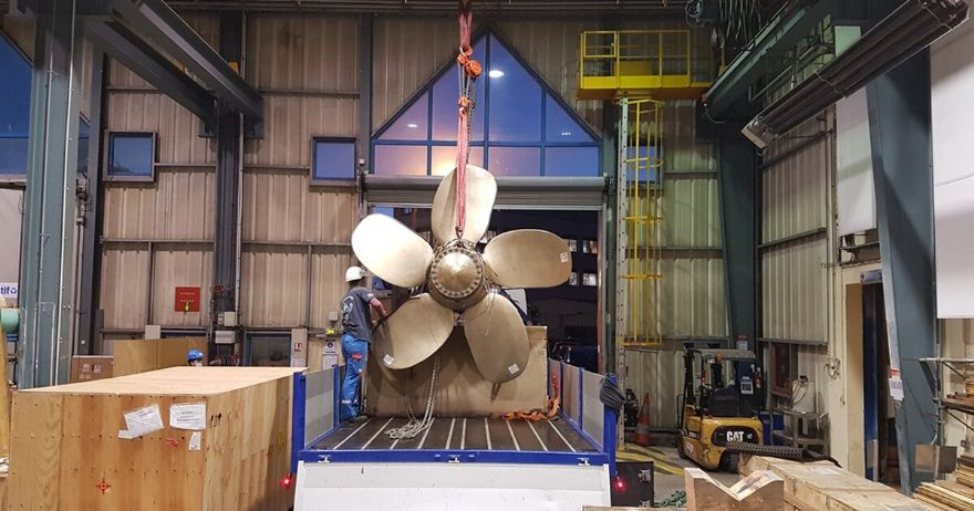 3-D printed ship propeller is a world first